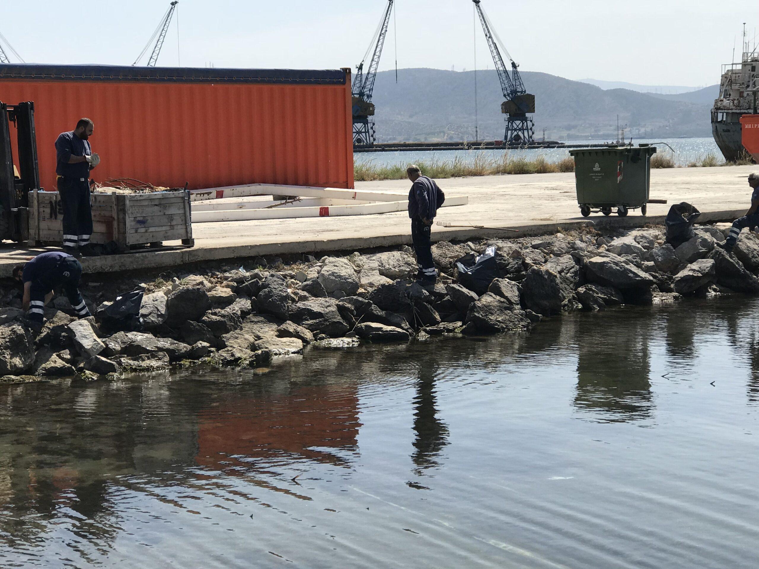 You are currently viewing Εργασίες Καθαρισμού της παράκτιας περιοχής στη θέση Καλυμπάκι, από την εταιρεία Assodivers