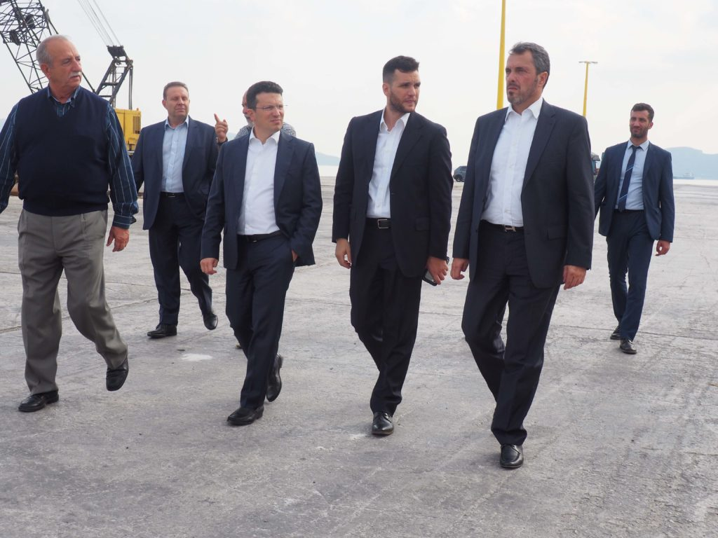 You are currently viewing Επίσκεψη της Διοίκησης του ΤΑΙΠΕΔ στο Λιμάνι της  Ελευσίνας.