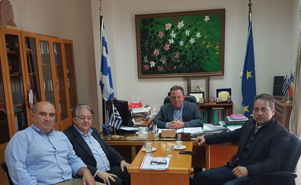 You are currently viewing Συνάντηση εργασίας Δημάρχου Ασπροπύργου με τον Πρόεδρο και τον Διευθύνοντα Σύμβουλο του Ο.Λ.Ε.