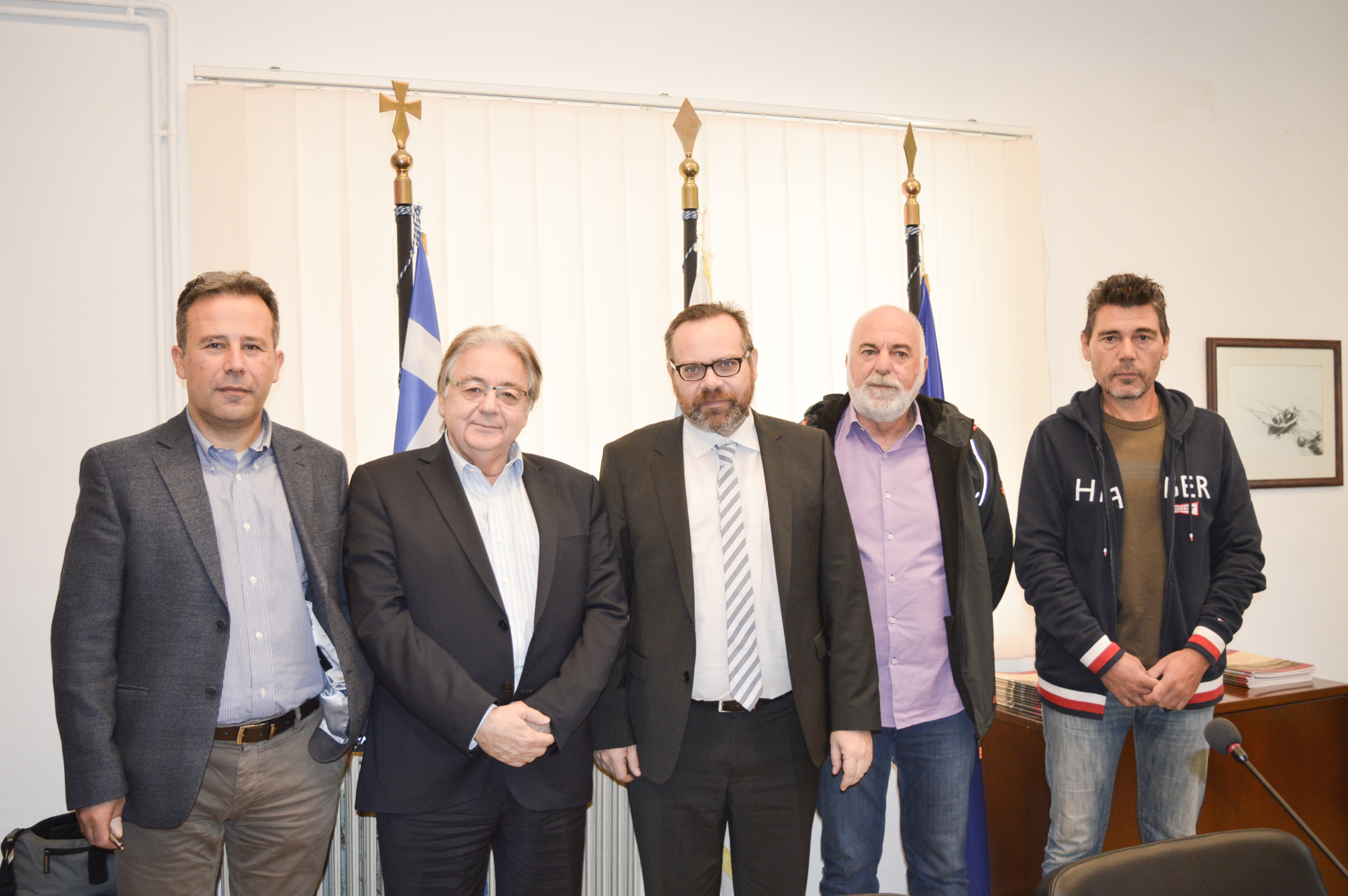 Επίσκεψη ΓΓ του υπουργείου Ναυτιλίας στον Ο.Λ.Ε. ΑΕ