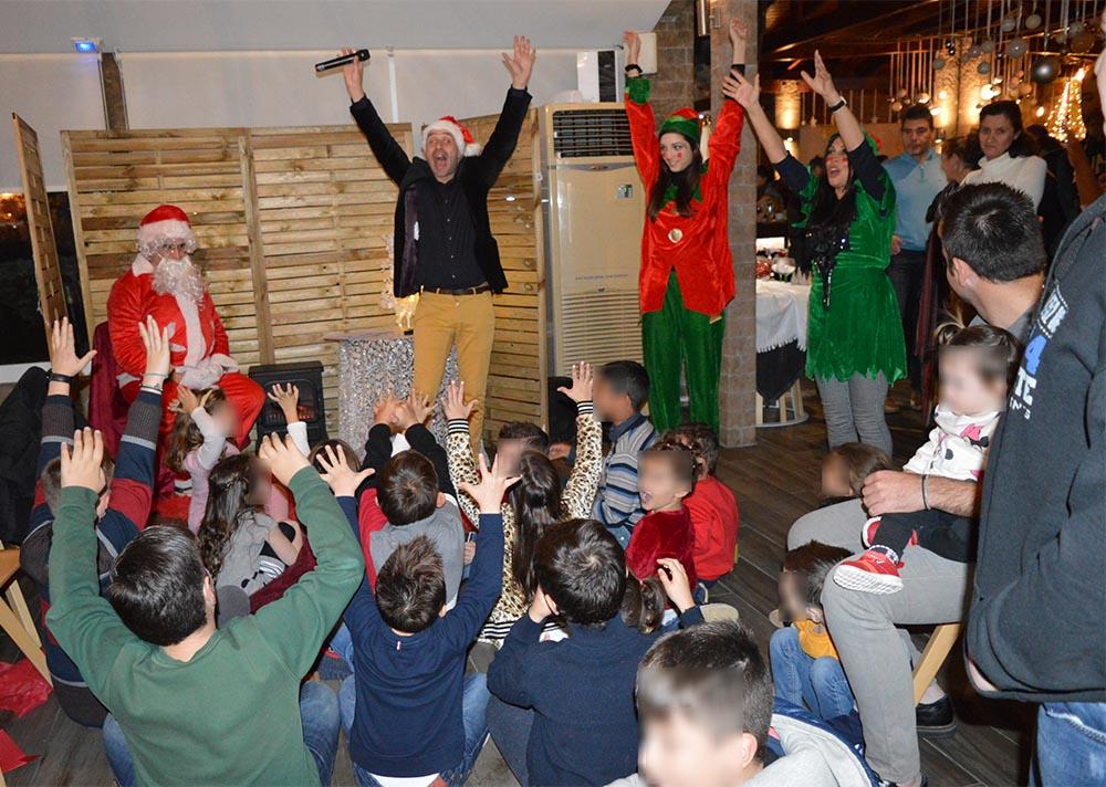 You are currently viewing Η πρώτη επίσημη Χριστουγεννιάτικη γιορτή του Ο.Λ.Ε. ΑΕ για τα παιδιά