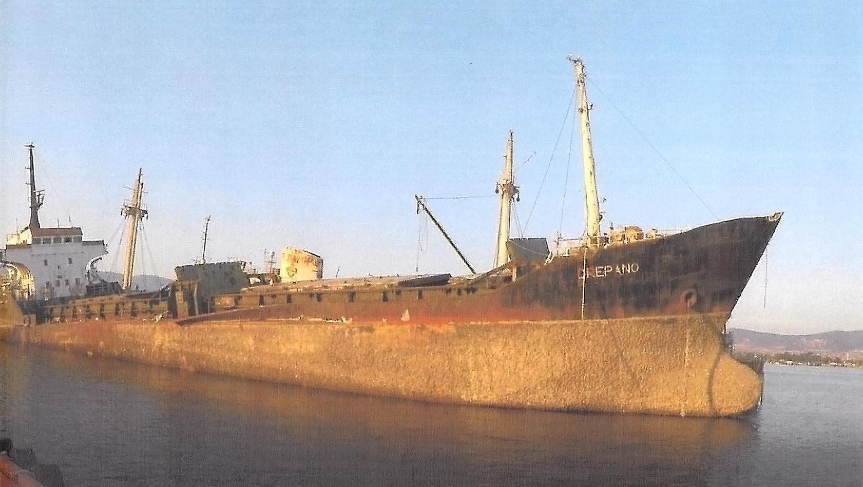 """Ολοκληρώθηκε η ανέλκυση του ναυαγίου Φ/Γ """"ΔΡΕΠΑΝΟ"""""""