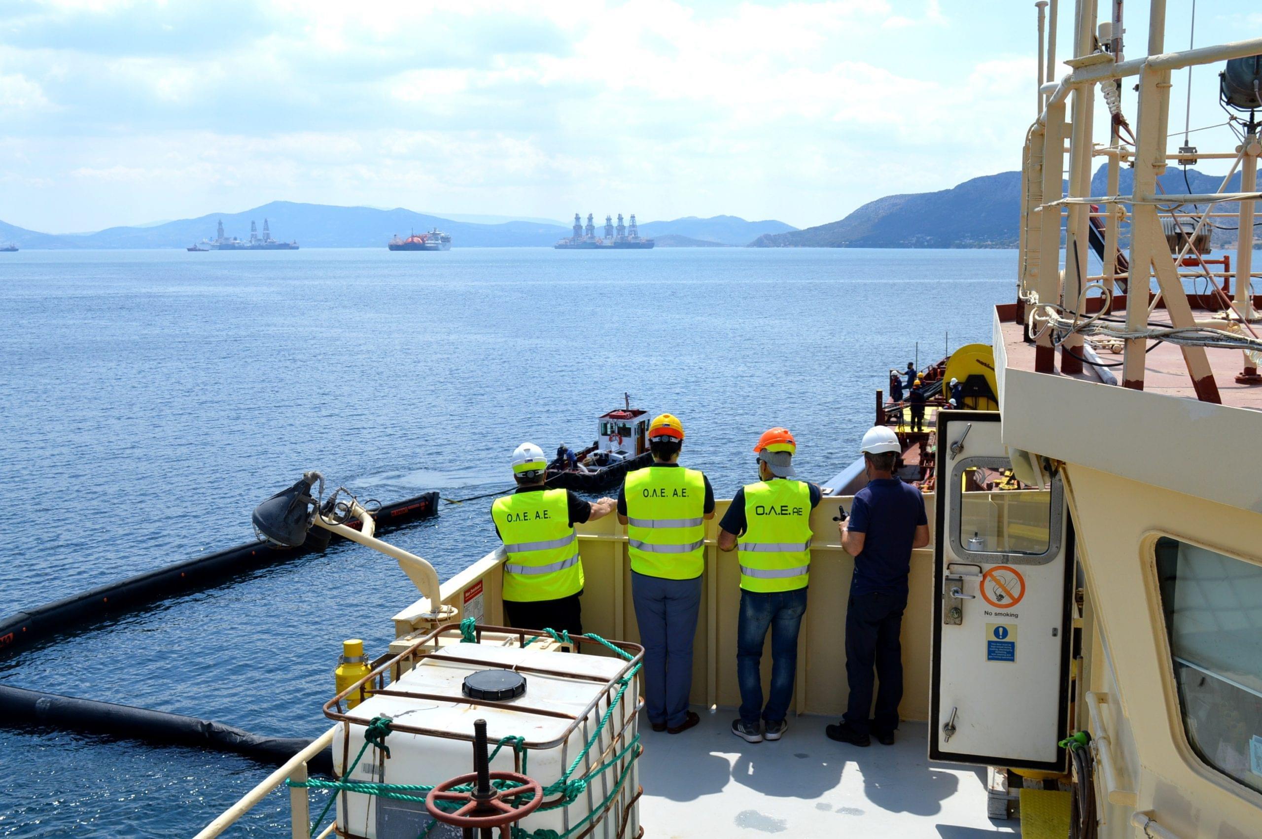 Συμμετοχή Ο.Λ.Ε. ΑΕ στην Άσκηση αντιμετώπισης θαλάσσιας ρύπανσης στον κόλπο της Ελευσίνας